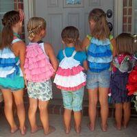 Fodros hátizsák kislányoknak