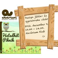 Hetedhét Piknik játékdesign és gyerekruha vásár