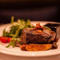 Medium steak, well done Burger Blog! :)