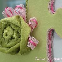 DIY tükör tavaszi virágos hangulatban