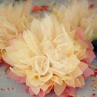 Esküvői virág dekoráció - DIY