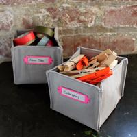 Tároló dobozka varrása apróságoknak