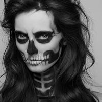 Smink Halloween-re