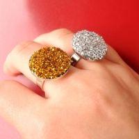 Csillogó gyűrű - DIY