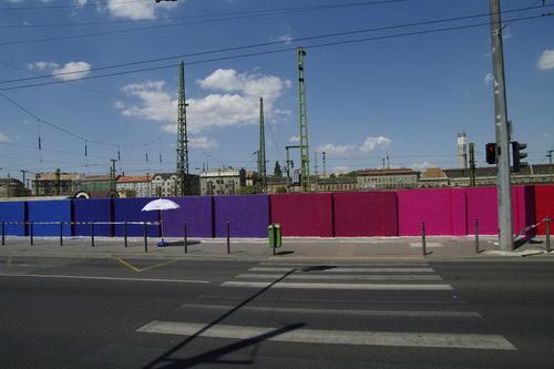Let's Colour: színes lett a Kerepesi út