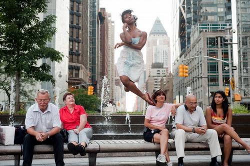 Táncosok a városban