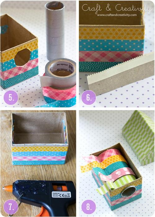 Washi tape tartó doboz