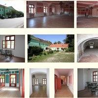 Eladó Nyugat-Magyarországon 1800-as években klasszicista stílusban épült kastély, a történelmi belvárosban, frekventált helyen.