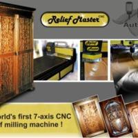 A világ első 7 tengelyes CNC dombormű maró gépe. Know-how eladó!