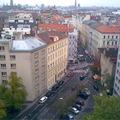 Josefstadt, a bécsi Józsefváros egy része fölülről