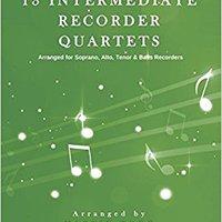 ?TOP? 13 Intermediate Recorder Quartets - Score & Parts. empresa Pirate Sprouse Control definite research color