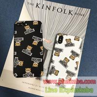 モスキーノmoschino iphone x/xr/xs max 熊ケース可愛い