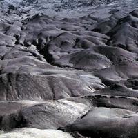 Karanaq desert landscape near to Yazd-Mashad road