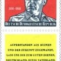 Az egykori NDK himnuszának sorai és szerzője