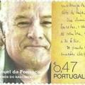 Manuel da Fonseca portugál író kézírásos sorai