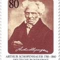 Schopenhauer kézjegye német bélyegen