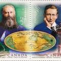 Kommunikáció vezetékkel és vezeték nélkül kanadai bélyegen
