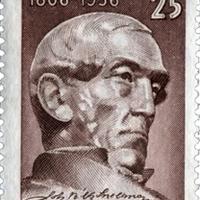 A finn filozófus és államférfi, Snellman aláírása