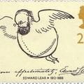 Edward Lear önportréja és aláírása
