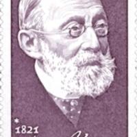 Rudolf Virchow patológus aláírása német bélyegen
