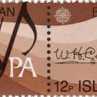 Man-sziget himnuszának szerzőjének aláírása