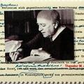 Adorno keze nyoma német bélyegen