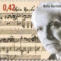 Bartók Béla keze nyoma belga bélyegen