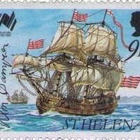 William Dampier, brit hajós aláírása