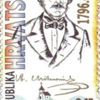 A horvát himnusz költőjének aláírása
