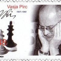 Vasja Pirc szlovén sakk nagymester aláírása