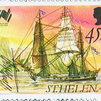 William Bligh aláírása és hajója