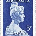 A neves szoprán, Nelli Melba portréja és kézjegye
