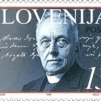 F. S. Finžgar a szlovén pap és író kézzel írt sorai