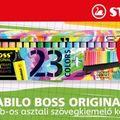 50. évfordulóját ünnepli a STABILO BOSS Original