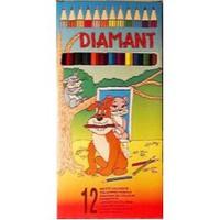Diamant hatszögletű színes ceruza készlet