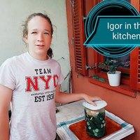 Igor konyhája - a nagymamám kovászos uborkája