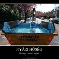 Hétvégén Ironman verseny lesz... :)