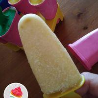 Ananászos kókuszos fagylalt/jégkrém a Meglepetés Mentes Konyha 5. különszámából (Vrábel Krisztina 160 grammos CH-diétába illeszthető receptje)