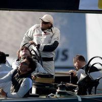Két kör után - Louis Vuitton Trophy, Nizza