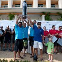 Szoros verseny - Extreme 40-es világbajnokság, Portoroz