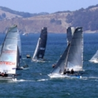 Szkiffes ünnep - International Skiff Regatta, San Francisco