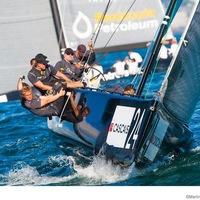 RC44: szoros verseny Cascaisban