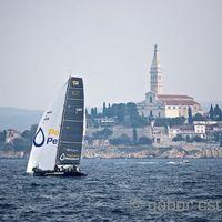 15 hajó, 13 futam - RC44 világbajnokság, Rovinj