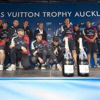 A hazai pálya előnye - Louis Vuitton Trophy, Auckland