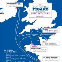 Útvonal - La Solitaire du Figaro 2011