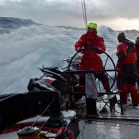 Fagyos hangulat - Volvo Ocean Race