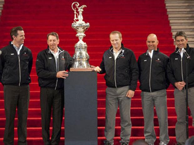 Az America's Cup San Fransiscoba érkezik