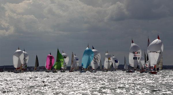 La Solitaire du Figaro - a 2. szakasz rajtja után