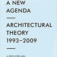 =TOP= Constructing A New Agenda: Architectural Theory 1993-2009. Townsend Previous eiDesign Portada fundo