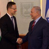 Gazdasági együttműködésekről is tárgyalt Szijjártó Péter Izraelben